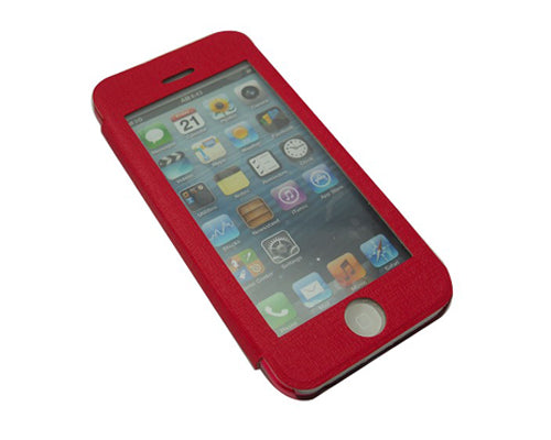 Eyelet Pro Series iPhone 5C Flip Leather Case - Red
