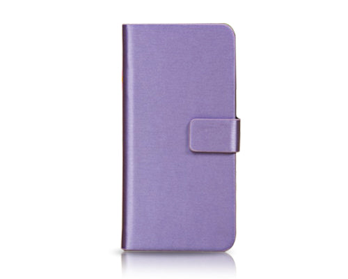 Fold Series iPhone 5C Flip Leather Case - Purple