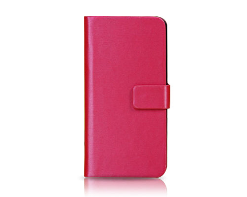 Fold Series iPhone 5C Flip Leather Case - Magenta