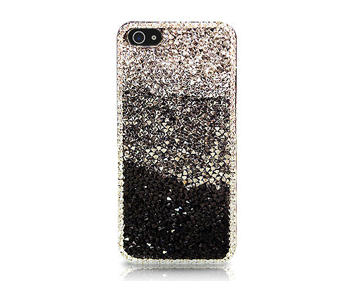 Bling Diamond Series iPhone 5 and 5S Crystal Case - Gradation