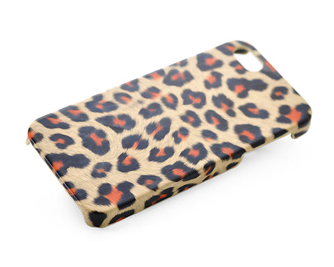 Leopard Series iPhone 5 and 5S Case - Brown