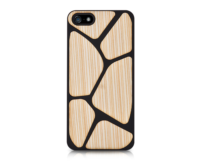 Block Series iPhone 5 and 5S Case - Brown
