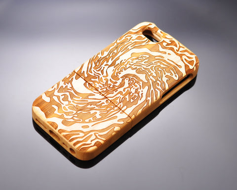 Genuine Wood Series iPhone 5 and 5S Case - Billow
