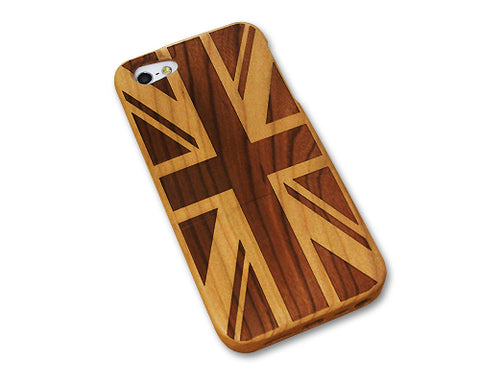 Genuine Wood Series iPhone 5 and 5S Case - United Kingdom