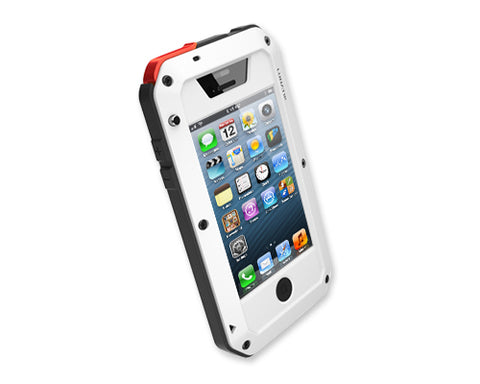 Waterproof Series iPhone 5 and 5S Metal Case - White
