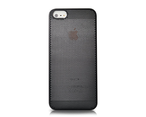 Perforated Series iPhone 5 and 5S Metal Case - Black