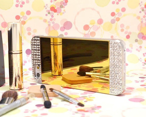 Mirror Series iPhone 5 and 5S Crystal Case - Silver Gold