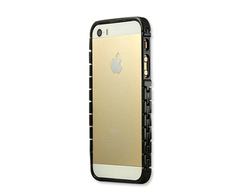 Bracelet Bumper Series iPhone 5 and 5S Metal Case - Black