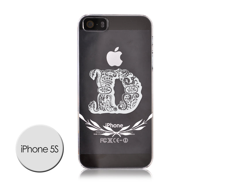 Alphabet Series iPhone 5 and 5S Case - D