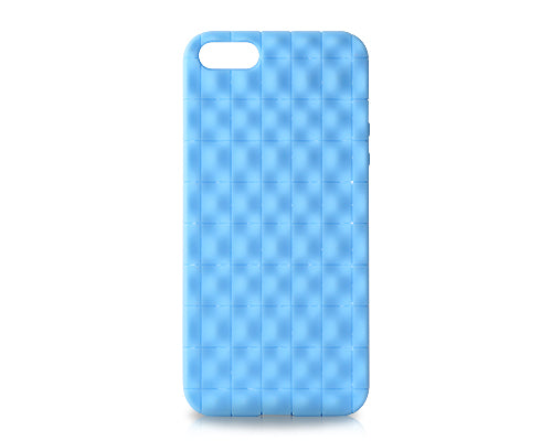 Coffer Series iPhone 5 and 5S Silicone Case - Blue