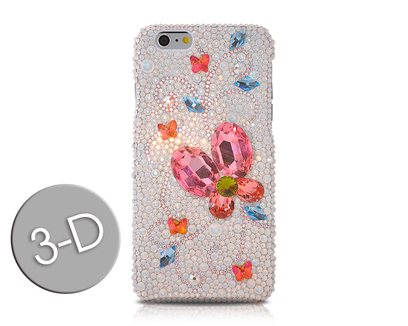 Awesome Butterfly Bling Swarovski Crystal Phone Cases