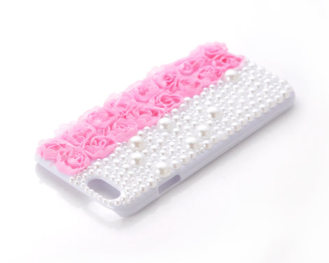 3D Flower Series iPhone 6 and 6S Pearl Case - Pink 1