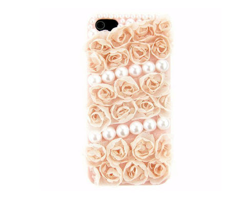 3D Flower Series iPhone 6 and 6S Pearl Case - Pink 2