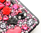 Rainbow Rhinestone Series iPhone 6 and 6S Crystal Case - Rose