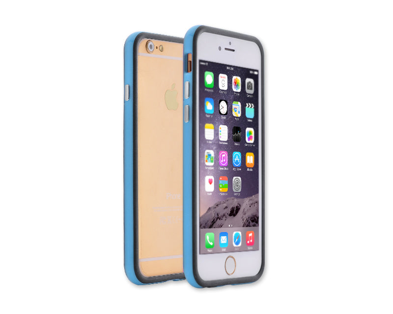 Bumper Series iPhone 6 and 6S Silicone Case - Blue