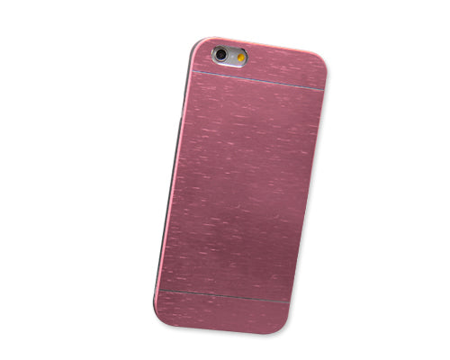 Metal Drawing Series iPhone 6 Metal Case (4.7 inches) - Pink