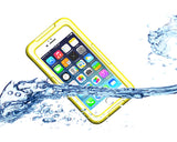 Waterproof Series iPhone 6 Plus and 6S Plus PC Case - Yellow
