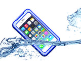 Waterproof Series iPhone 6 Plus and 6S Plus PC Case - Blue