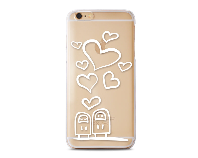 Penetrate Series iPhone 6 Plus and 6S Plus Case - Sweet Love Hearts