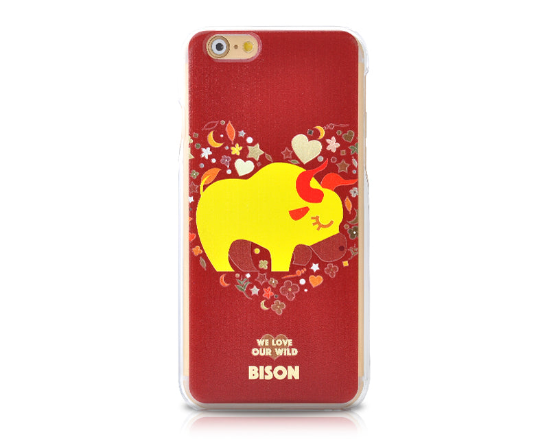 We Love Our Wild Series iPhone 6 Plus Case (5.5 inches) - Bison