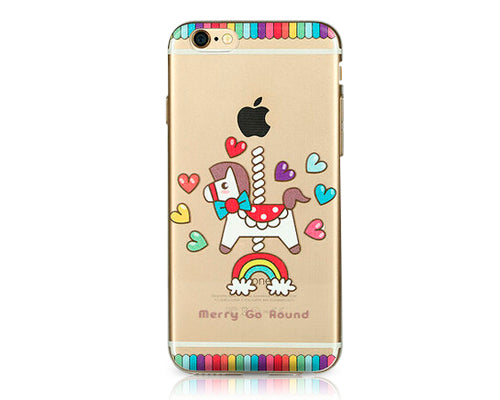 Painted Series iPhone 6 Plus Case (5.5 inches) - Carousel