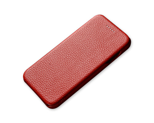 Fold Series iPhone 6 and 6S Leather Flip Case - Red