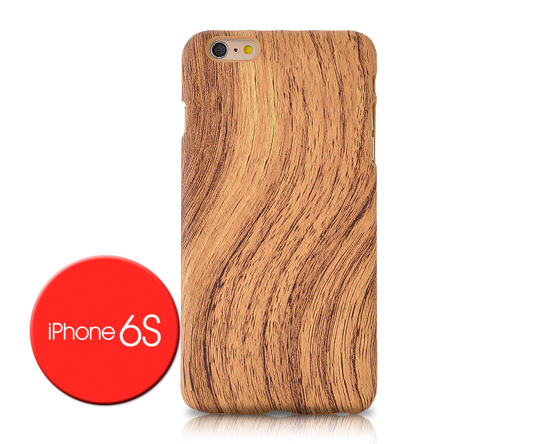 Wooden Series iPhone 6 and 6S Case - Light Brown