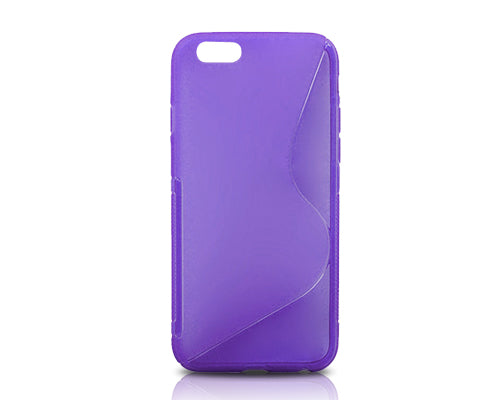 S-Line Series iPhone 6 and 6S Silicone Case - Purple