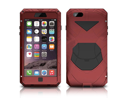 Armor Series iPhone 6 Plus and 6S Plus Metal Case - Red