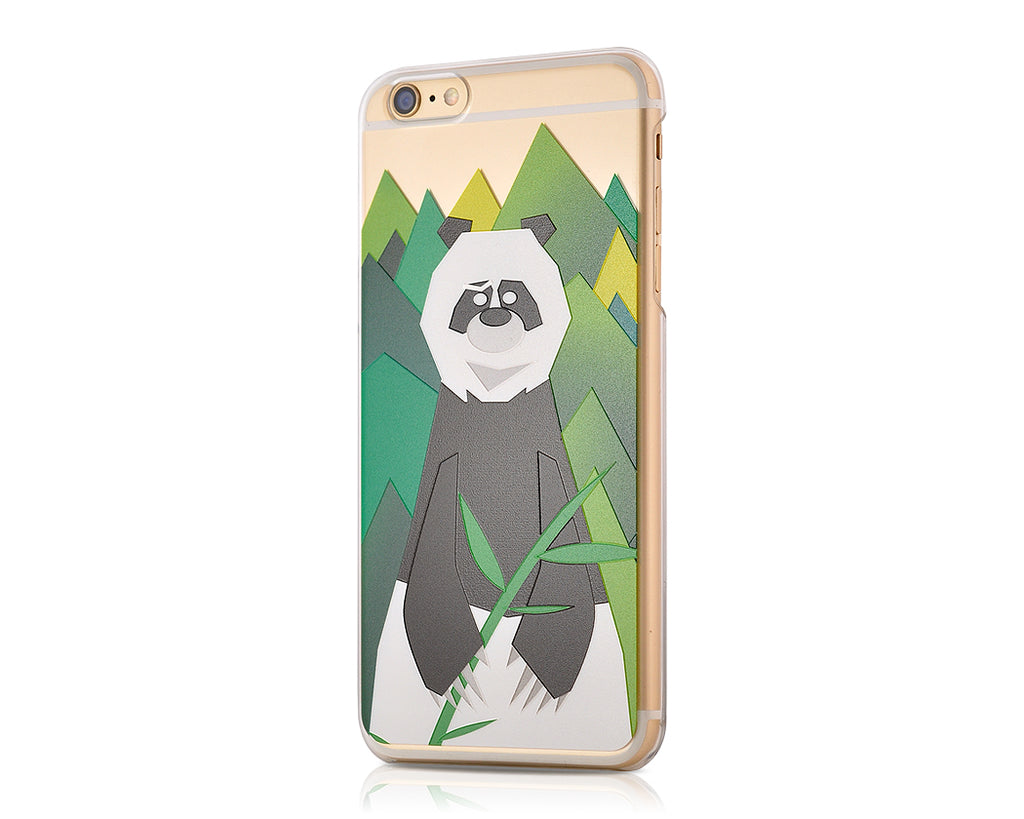 Mr. Bear Series iPhone 6S Plus Case - Panda