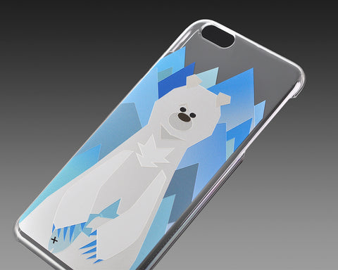Mr. Bear Series iPhone 6S Case - Polar Bear