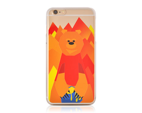Mr. Bear Series iPhone 6 and 6S Case - Poon