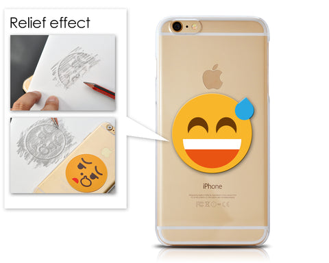 Emoji Series iPhone 6S Case - Sweat Smile