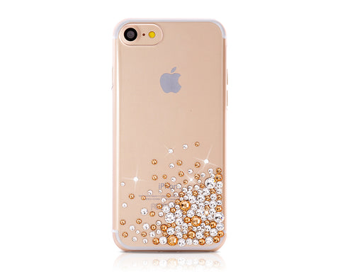 Rubble Bubble Bling Swarovski Crystal Phone Cases - Gold