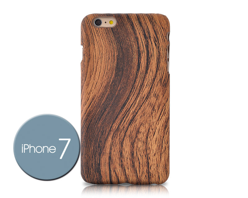 Wooden Series iPhone 7 Case - Brown