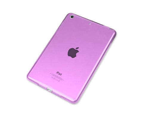 Perla Series iPad Mini 3 Silicone Case - Purple