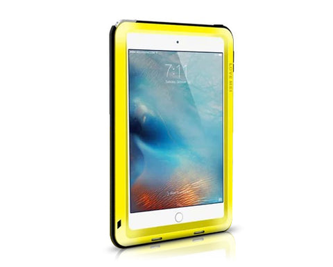 Waterproof Series iPad Mini 4 Metal Case - Yellow