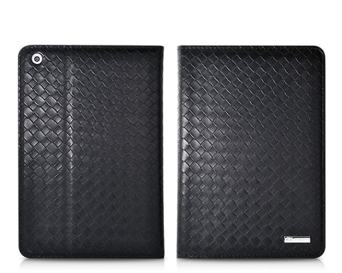 Amano Series iPad Mini Flip Leather Case - Black
