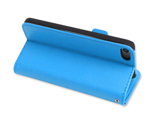 Liscio Series iPod Touch 5 Flip Leather Case - Blue