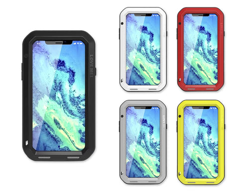 iPhone X Waterproof Case Shockproof Metal Phone Case