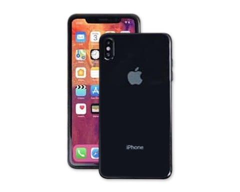 Apple iPhone Xs Max Clear Case TPU Bumper with Acrylic Back