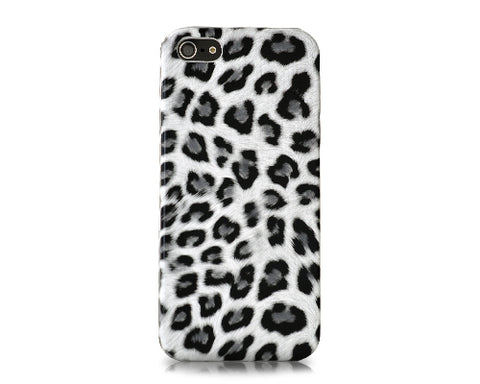 Leopard Series iPhone SE Case - White