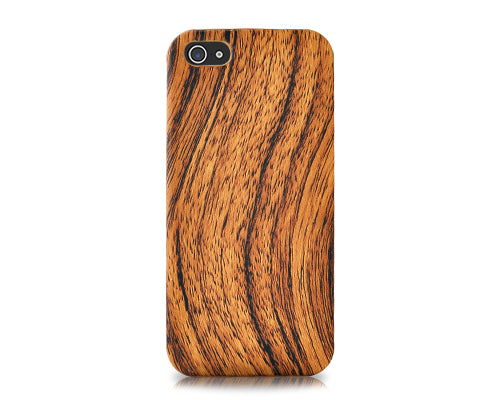 Wooden Series iPhone SE Case - Brown