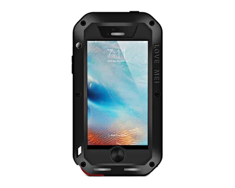 Waterproof Series iPhone SE Metal Case - Black