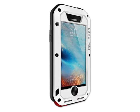 Waterproof Series iPhone SE Metal Case - White