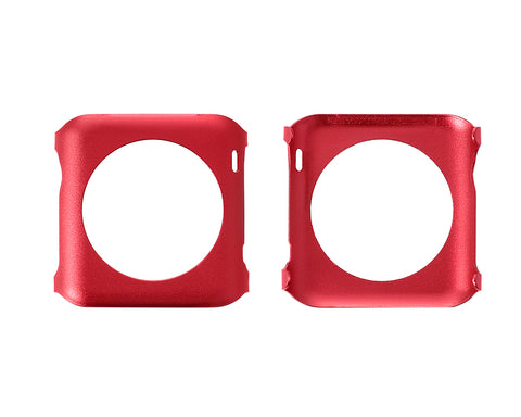 42mm Apple Watch Aluminium Alloy Protective Case iWatch Cover - Red
