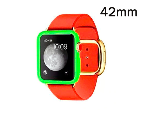 Ultra Slim TPU Case for Apple Watch 42mm - Green