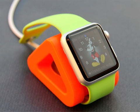 3D Printing Compact Charger Stand for 38mm / 42mm Apple Watch - Orange