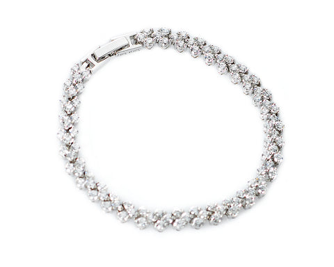 Noble Swarovski Crystal Bangle