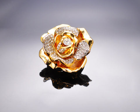 Rose Premium Brooch Pin